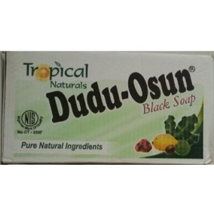 48 X Tropical Naturals Dudu Osun Black Soap 150g (A Box Of 48)